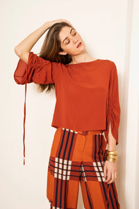 Tie-up Blouse