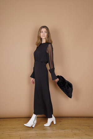 Conic Sleeved Dress (2153251373114)