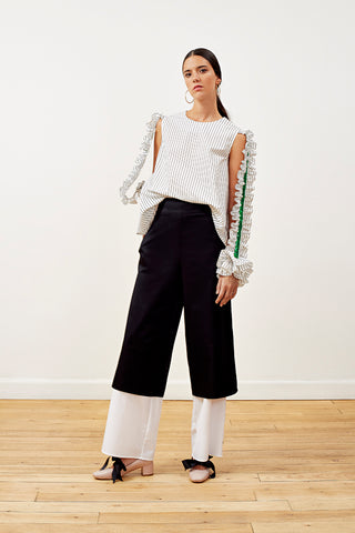 Layered B&W Pants