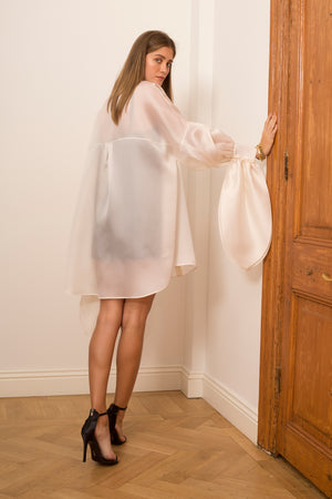 Organza Shirtdress