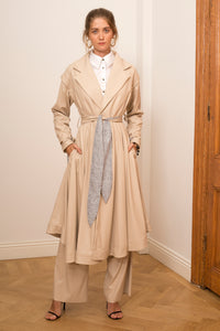 Handkerchief Trenchcoat