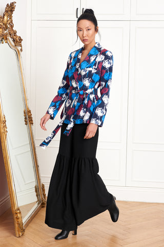 Peplum Flower Jacket