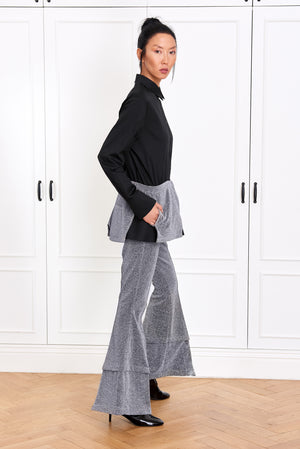 Layered Silver Pants