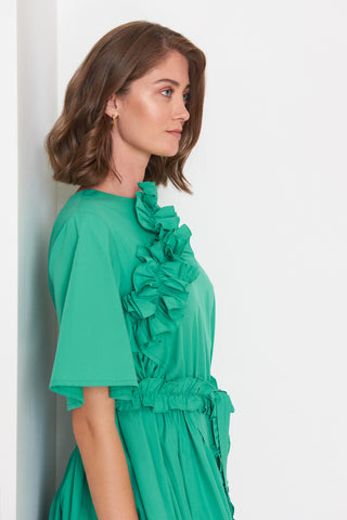 Ruffled Midi Dress (4904883585126)