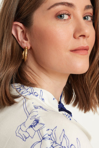 Seasons & Stories Hoop Earrings