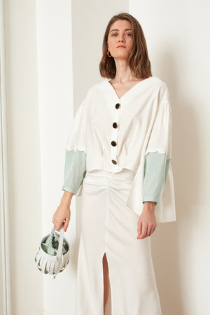 Heart Collar Blouse