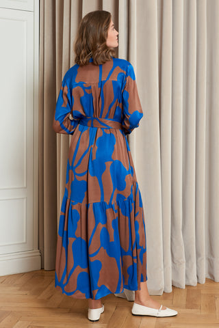 Abstract Collar Shirtdress (4916017758310)