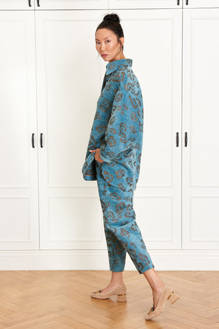 Blue Leopard Overshirt (4951577952358)