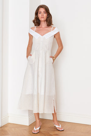 Off-Shoulder Dress (4904880013414)