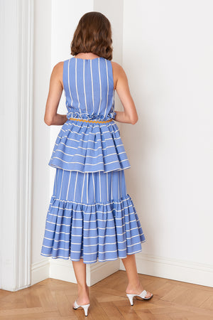 Ruffled Layered Dress (4904888959078)