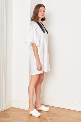 Ruffled Short Sleeve Minidress (4886524559462)