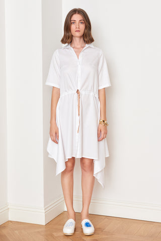 Handkerchief Detailed Shirtdress (4887934074982)