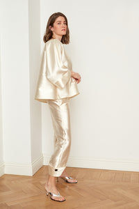 Satin Oversized Blouse (4670001217638)