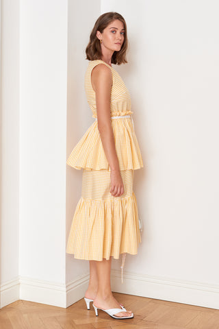 Ruffled Layered Dress (4904888074342)