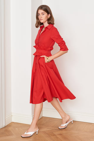 Red Shirtdress (4888557289574)