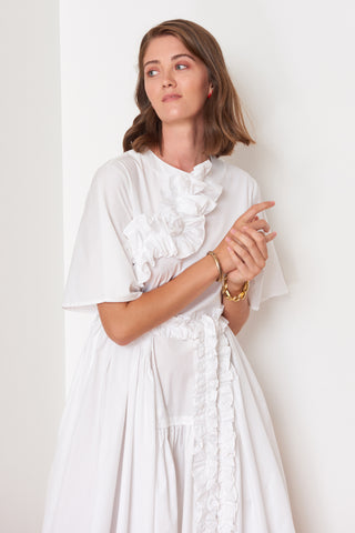 Ruffled Midi Dress (4904893677670)