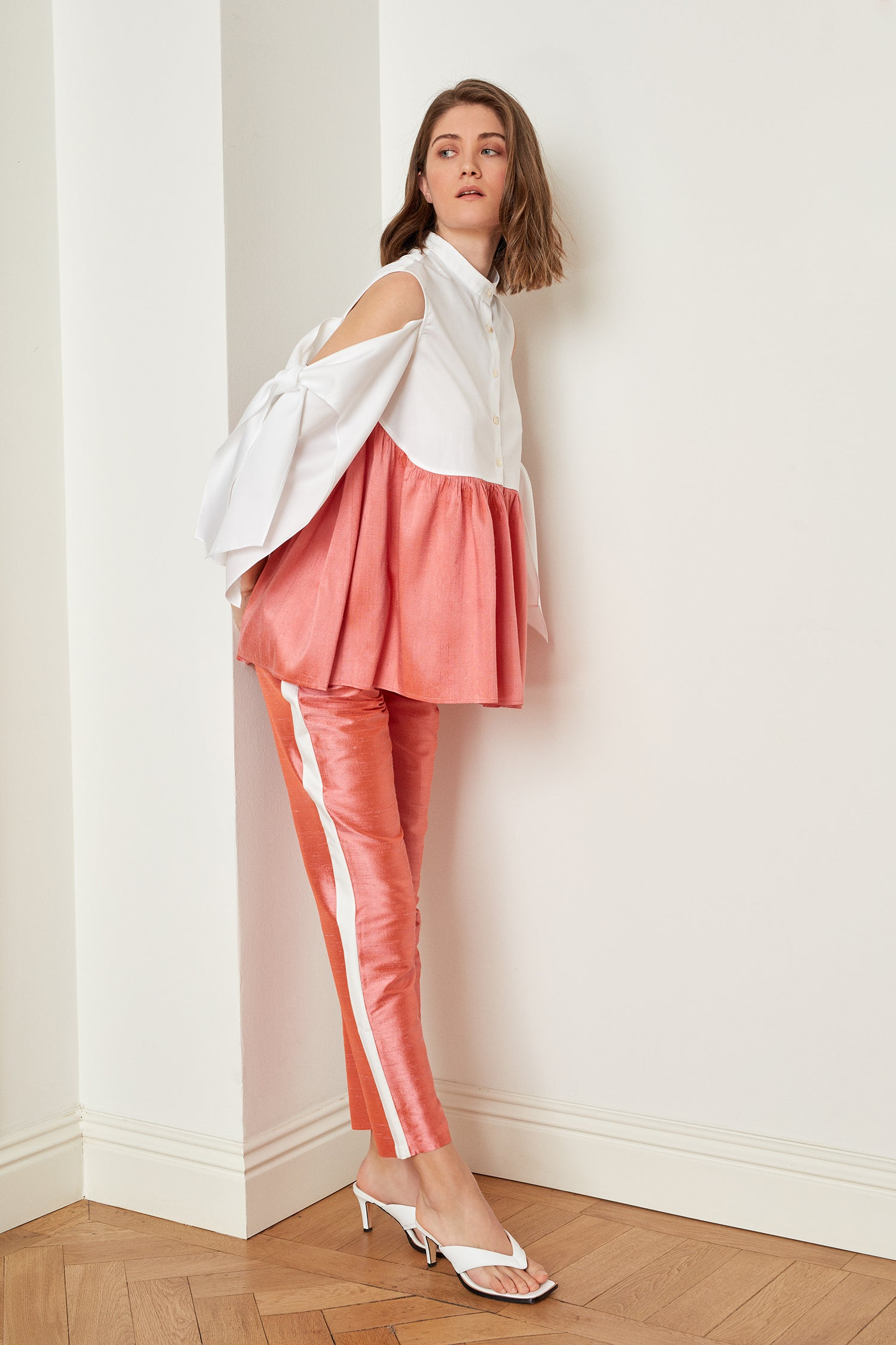 Silk Cigarette Pants (4723666845798)