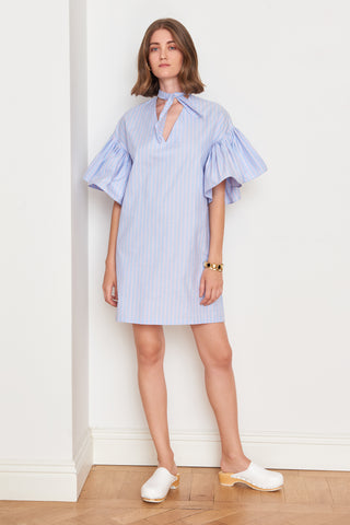 Ruffled Short Sleeve Minidress (4886480814182)