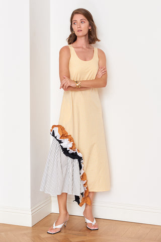 Ruffled Hem Dress (4909763592294)