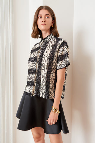 Striped Sequin Shirt (4888542675046)