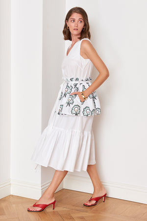Ruffled Layered Dress (4909246939238)