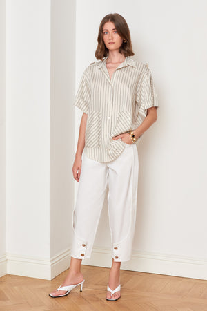 DWME Linen Shirt with Pockets