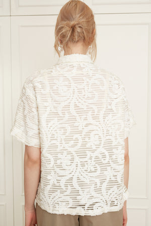 Sequined New Born Shirt