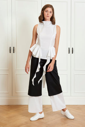 Layered B&W Pants (4925568122982)