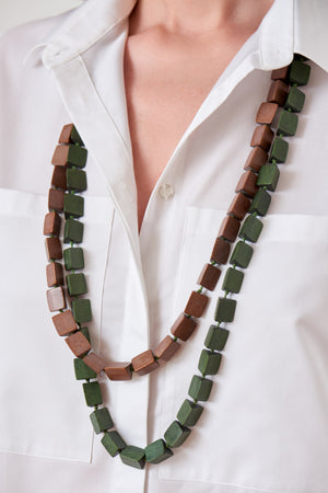 Wooden Cube Necklace (4902286360678)
