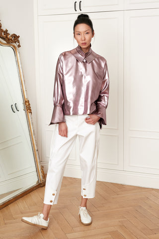 Metallic Ajda Blouse