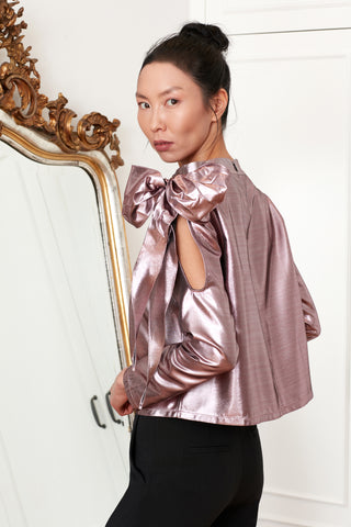Metallic Gamze Blouse