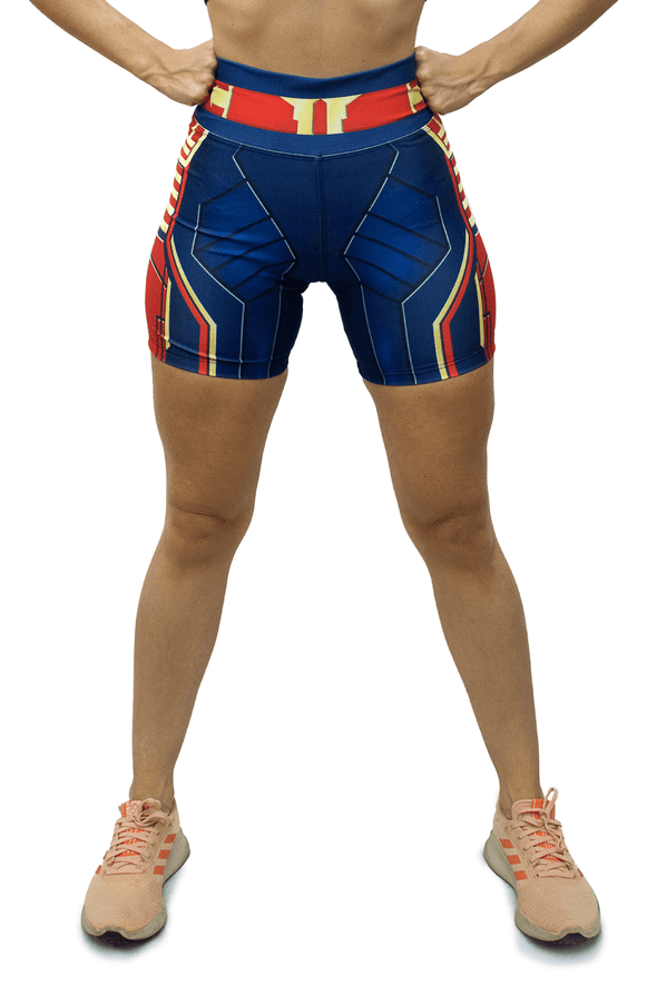 Shorts Capitã Marvel