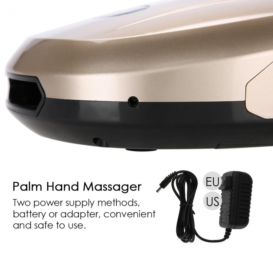 Electric Acupressure Palm Hand Massager