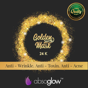 Gold Facial Mask - ABSOGLOW