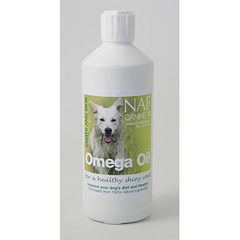 Canine Omega Oil (500ml) - NAF