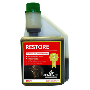 Restore Liquid - Detoxifier (500ml) - Global Herbs