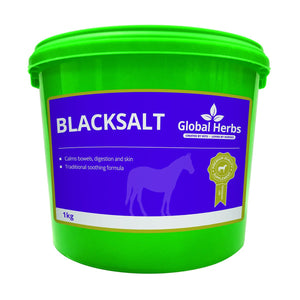 Equine Black Salt (2kg) - Global Herbs