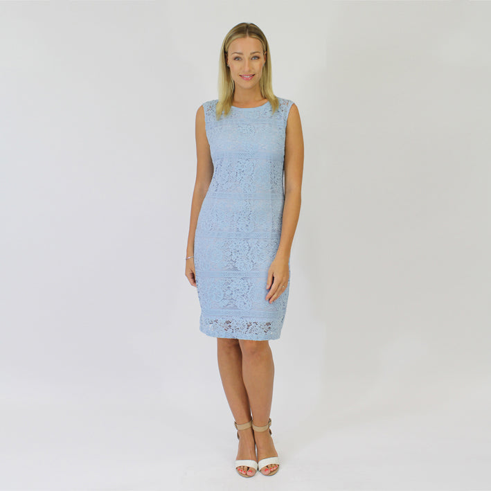 7b961beb3b6 Jendi br Dress with Lace Overlay - Bliss in Inverloch Online   Retail Store