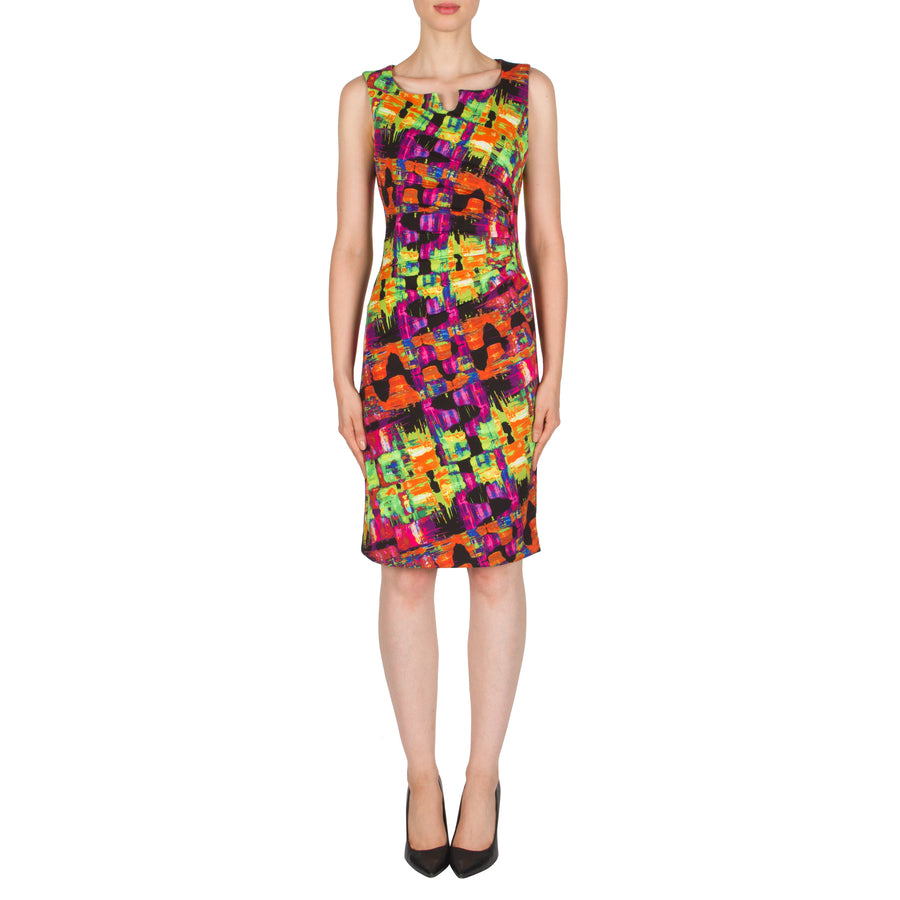 d0b51f7f942 Joseph Ribkoff br Multi Black Dress - Bliss in Inverloch Online   Retail ...