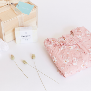 "The Little ""Welcome Baby Girl"" Gift Box"