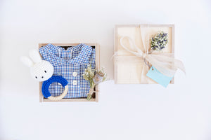 "The Little ""Welcome Baby Boy"" Gift Box"