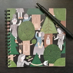 JUST WOOD notebook