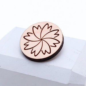 FLOWER brosch/ring