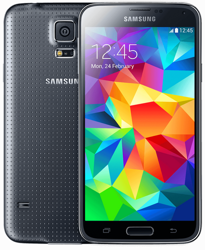 Samsung Galaxy S5 G900F Charcoal Black Schwarz 16GB