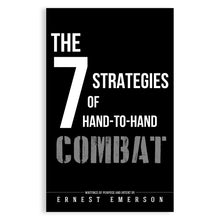 SEVEN STRATEGIES OF HAND TO HAND COMBAT BOOK - SIGNED COPY