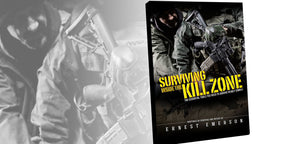 SURVIVING INSIDE THE KILL ZONE BOOK - SIGNED COPY