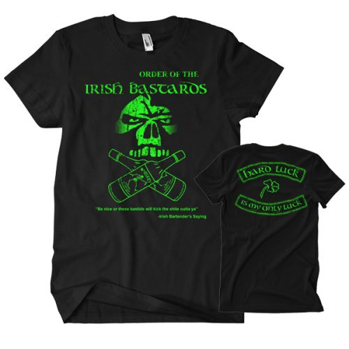 ORDER OF THE IRISH BASTARDS T-SHIRT