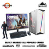Fortnite Gaming PC Bundle: AMD Ryzen 3 2200G GTX 1660 6GB (White) (8-240-550-A320-W10-27)