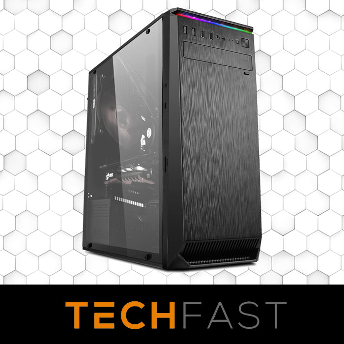 Bundled Leaper Flair M-ATX Case