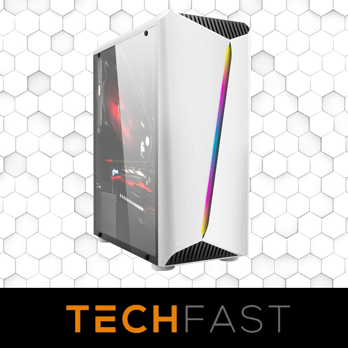 Case Upgrade: Leaper/Flair/Mid to Allied Pro RGB M-ATX Case - White